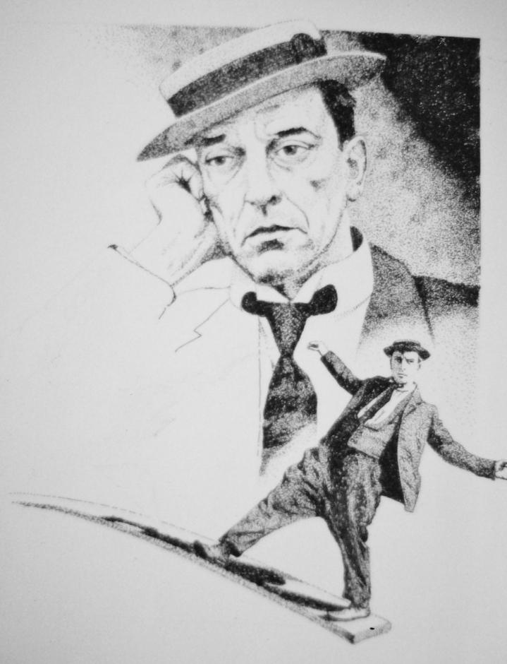 Buster Keaton par Tom-Heyburn